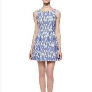 NWT Alice + Olivia Epstein Ikat Dress Size 0